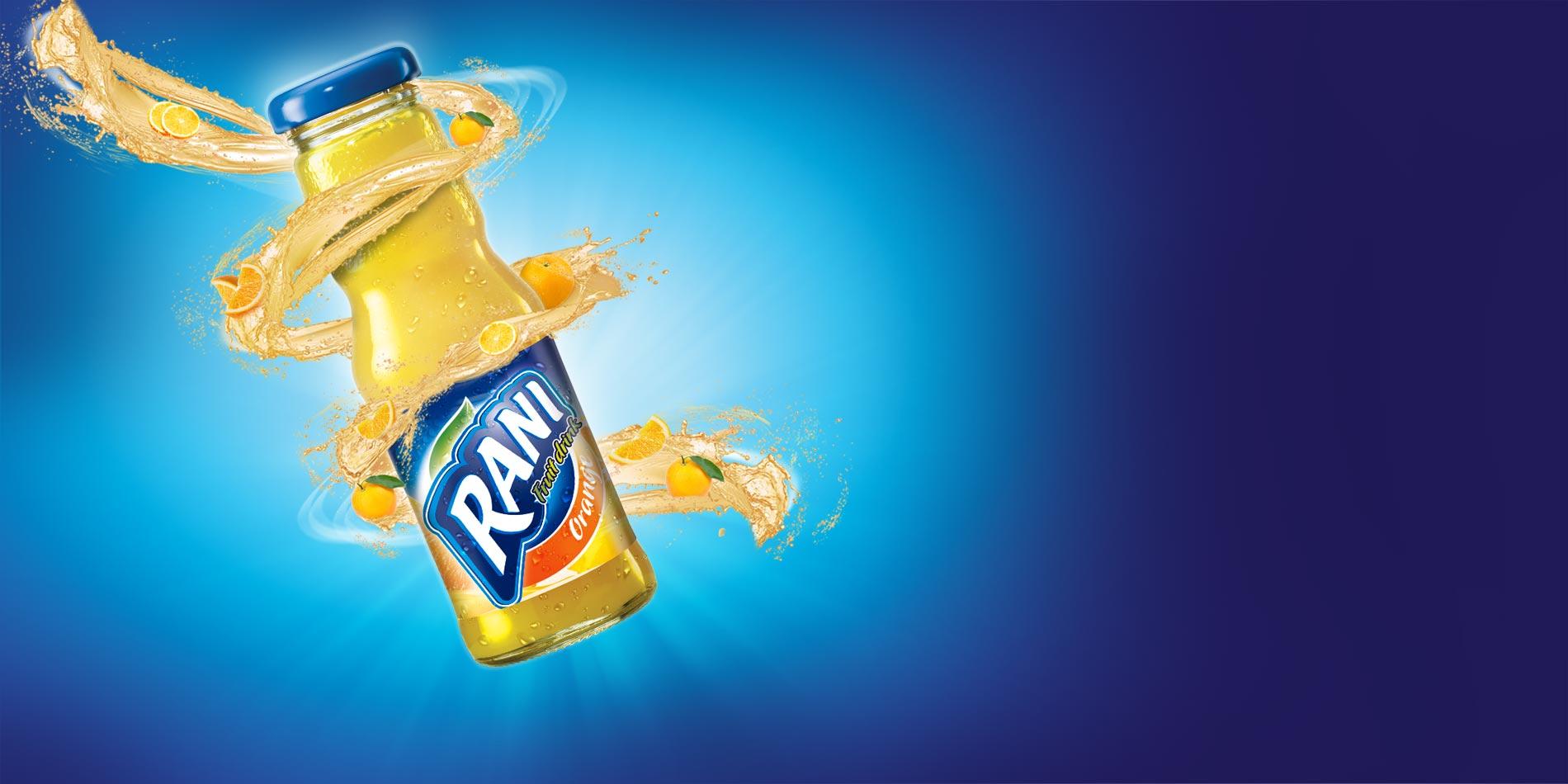 نوشیدنی پرتقال رانی